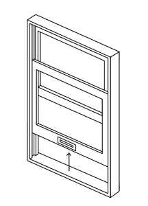 Single Hung Timber Window